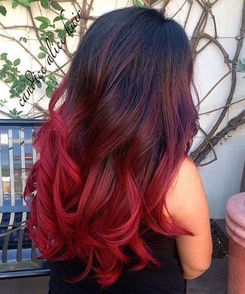 top 25 best bright red hairstyles ideas on pinterest. Black Bedroom Furniture Sets. Home Design Ideas
