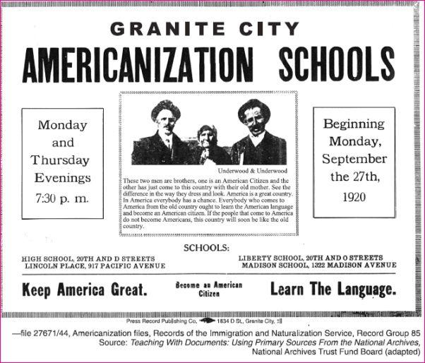 nativism dbq Ap us history dbq example 1  nativism mass production  monopoly  labor union   khan academy is a 501(c)(3) nonprofit organization.