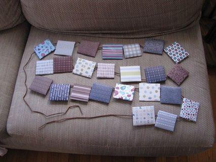 9 Adorable DIY advent calendars - like this Tea advent calendar.