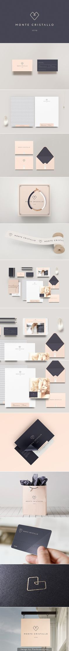 Monte Cristallo jewelry packaging. Beautiful and simple.