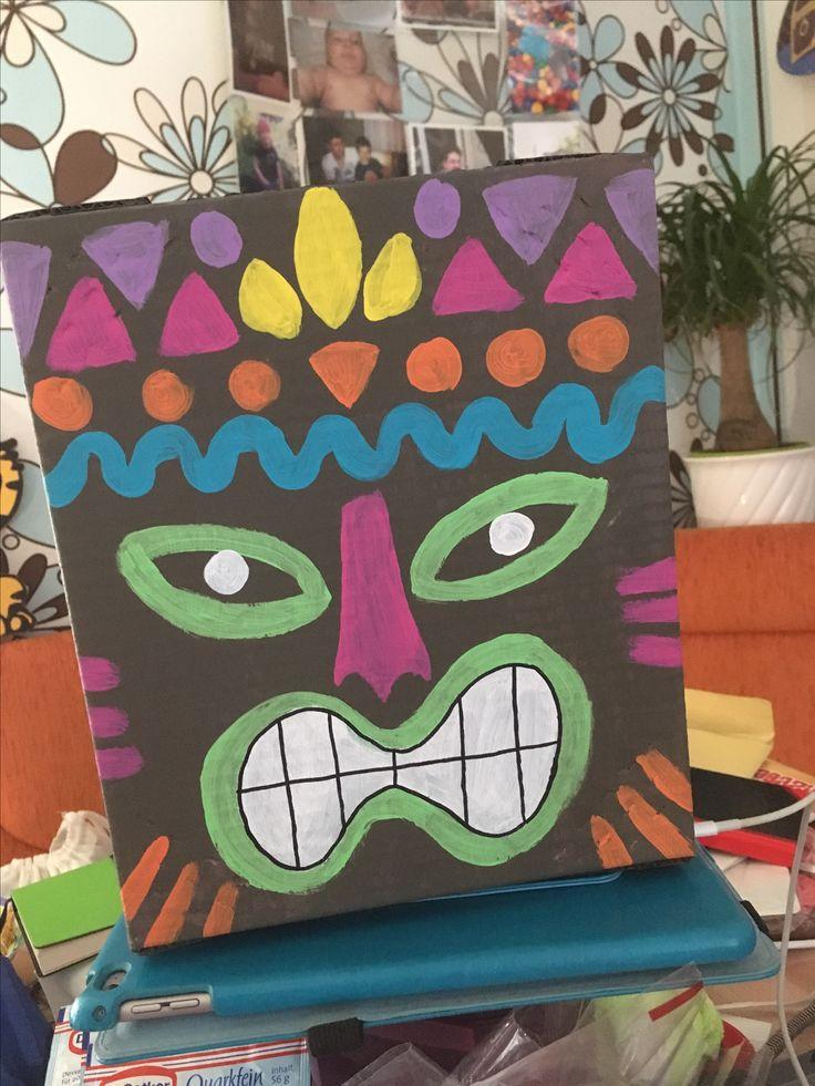 Moai - Tikki Figur Deko für Kindergeburtstag