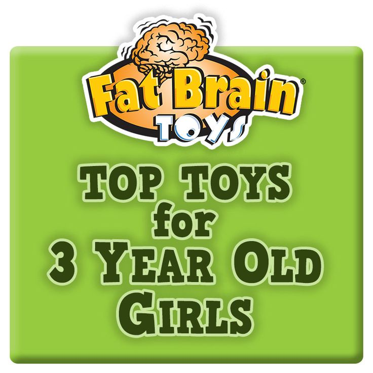 Fat Brain Toys has assembled an exclusive list of toys appropriate for 3 year old girls. Fat Brain Toys is your source for educational toys that will challenge your child's intellect and stretch their imagination. Find over 7,000 toys available for same day shipping.