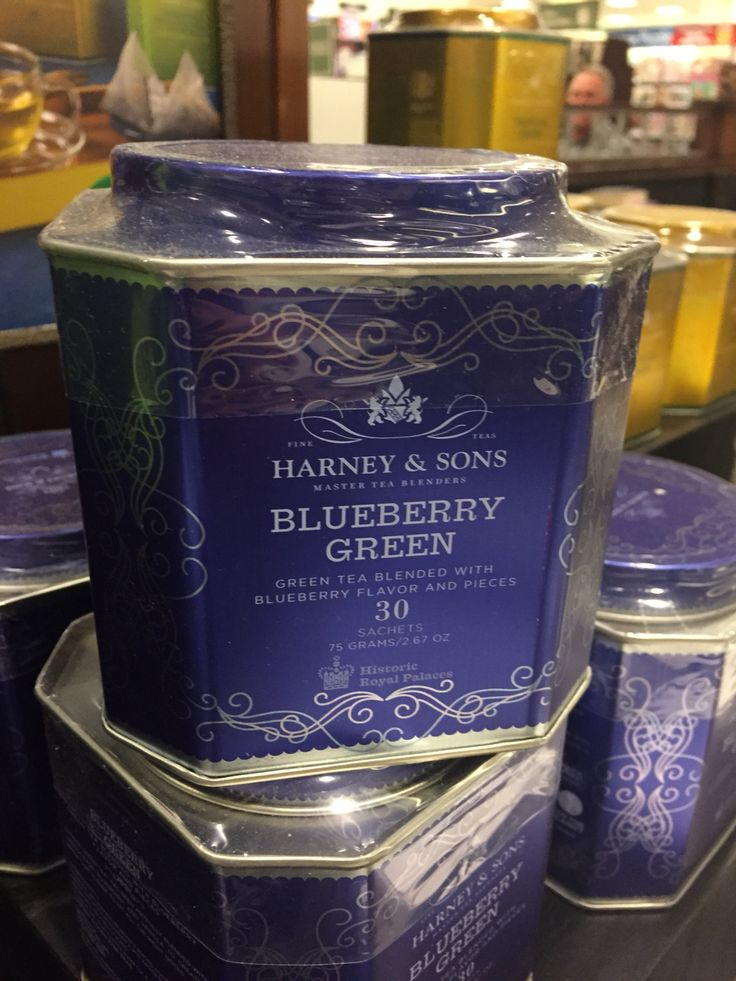 Harney and sons blueberry green tea