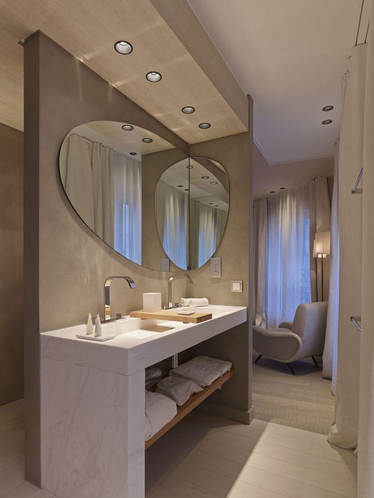 Best Salles De Bains En Béton Ciré Images On Pinterest - Beton cire dans salle de bain