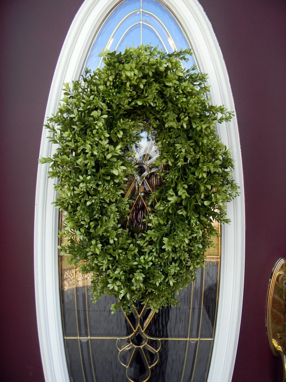 Spring Wreath Summer Wreath Grapevine Oval by AnExtraordinaryGift, $85.00