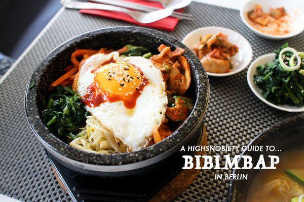 Where to eat Bibimbap in Berlin