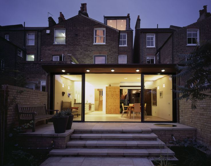 Rollscourt Avenue - Rear extension | ambo architects