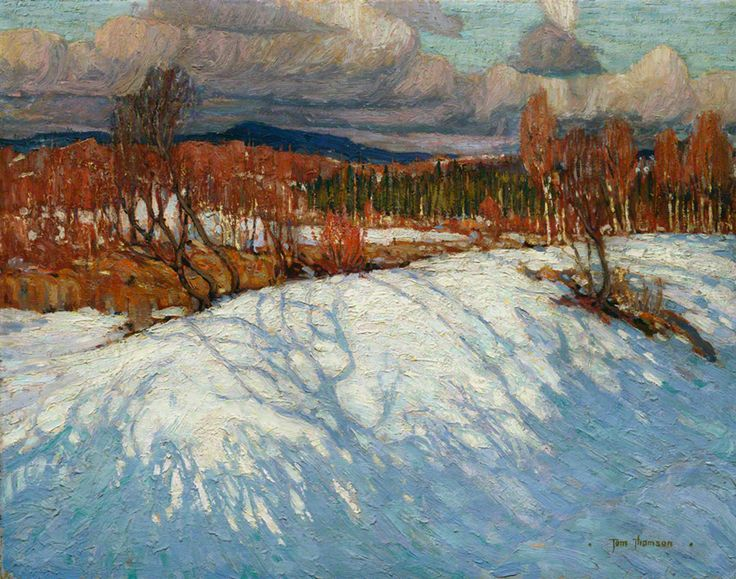 Tom Thomson In Algonquin Park, 1914 Oil on Canvas 63.2 x 81.1 cm