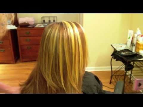 35 best dye it yourself images on pinterest hairdos hair colors how to do thick chunky highlights with foils youtube solutioingenieria Gallery