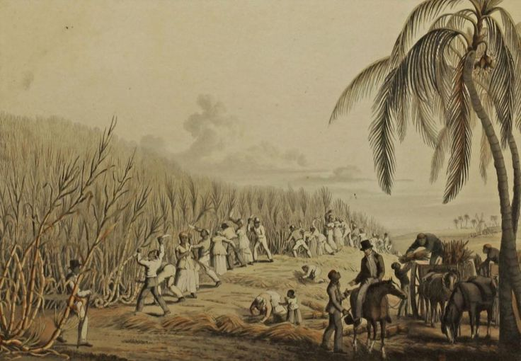 William Clark, American 1770-1838- ''Ten views in the Island of Antigua'', 1823; hand coloured aquatints, ten, published by W Clark, Dartmouth Street, ea. 24.8x35.5cm (sheet), (10) - Price Estimate: £400 - £600