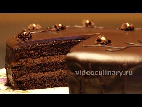 Простой шоколадный бисквитный торт - Рецепт Бабушки Эммы - YouTube