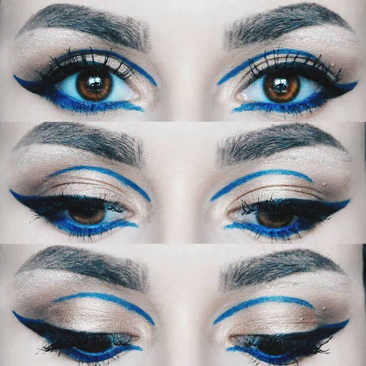 "307 Likes, 3 Comments - ∆ Casandra ∆ (@casandrasy) on Instagram: ""This eye makeup was done using @notecosmeticsromania products Eyeshadow, blue pencil, black pencil,…"""