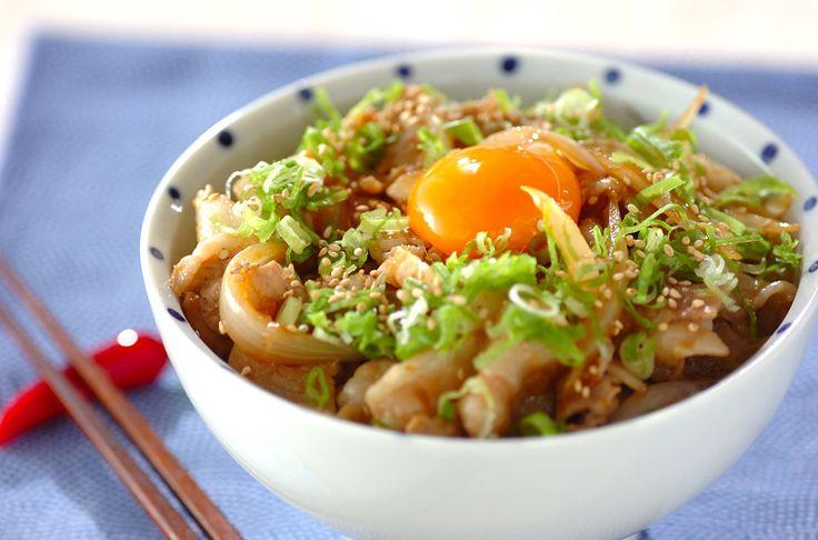 すた丼(東京)/増田 知子のレシピ。[和食/ご飯もの(寿司、ご飯、どんぶり)]2010.09.06公開のレシピです。