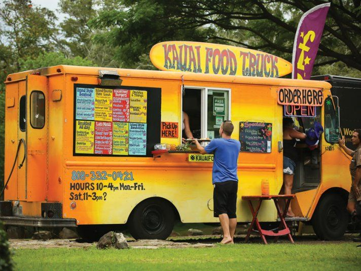 Five Kauai Food Trucks