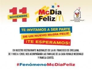 Ya llega el McDía Feliz: con la compra de un Big Mac, todos colaboran con la Fundación Casa Ronald McDonald