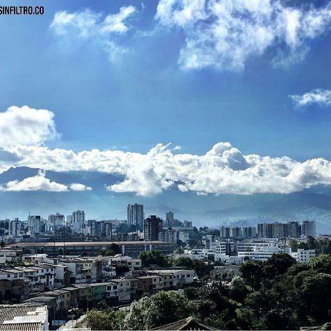 Nuestra linda ciudad. 🌁👏❤  _  #ManizalesSinFiltro  #Manizales