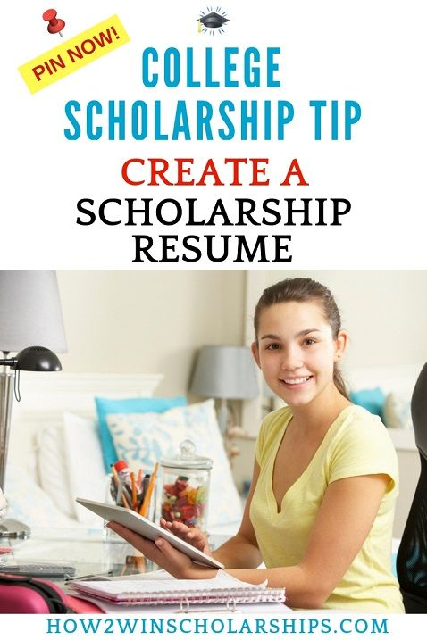 Scholarship Resumes - THIS is why you need one! College Bound - Resume Now Customer Service