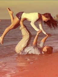 Cute pic haha I love when Cody does this to mee