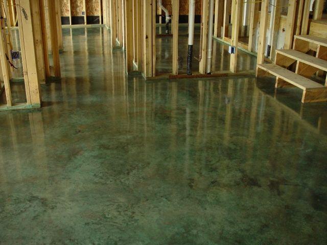 Old world concrete inc interior concrete floors for for Old world floors