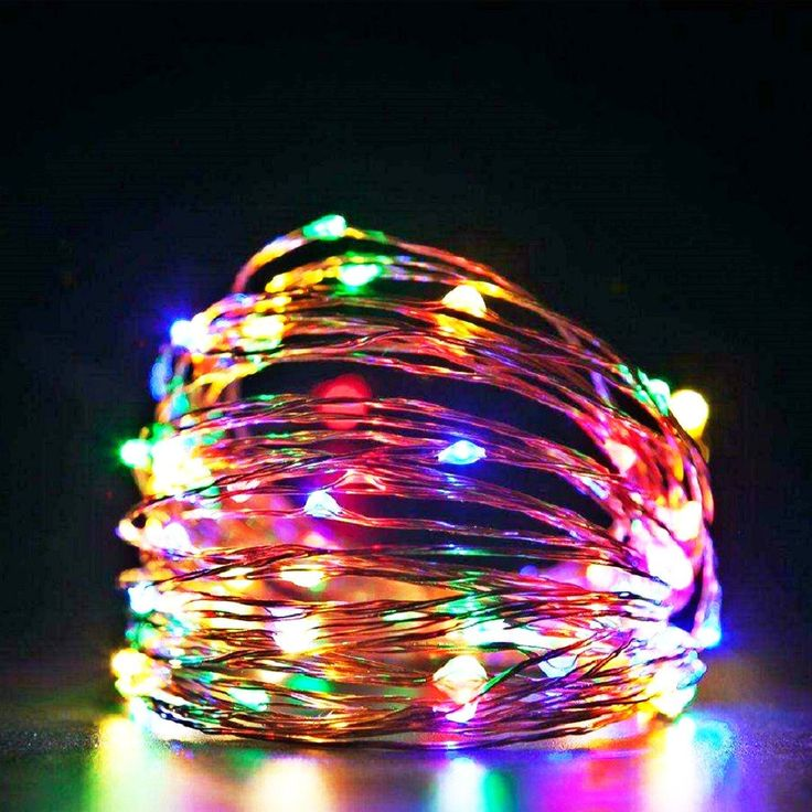 led battery string lights 33ft/100LED RGB Waterproof Outdoor And Indoor copper wire lights RF remote control,Starry for Patio, Garden, Gate, Bistro, Party Decorative, Christmas and More