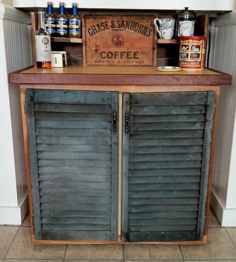 Rustic Coffee And Tea Bar By The Coastal Theory. All Orders Are...