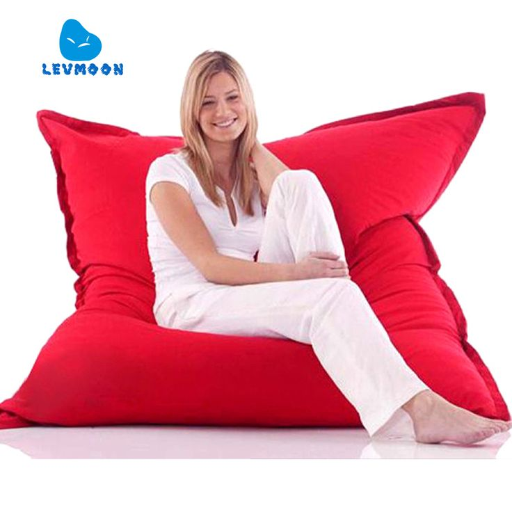 LEVMOON Beanbag Sofa Magic Seat Zac Shell Comfort Bean Bag Bed Cover  Without Filler Micro Velvet Indoor Beanbag Lounge Chair