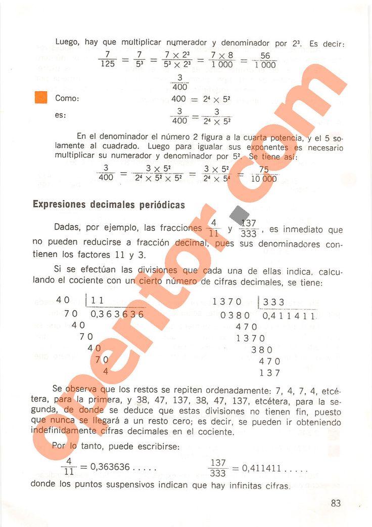 Aritmética de Repetto 2 - Página 83