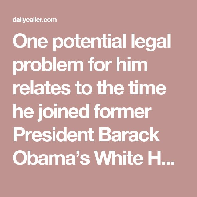 One potential legal problem for him relates to the time he joined former President Barack Obama's White House staff in 2014 as a senior counselor and failed to reveal his 2011 Joule stock vesting agreement in his government financial disclosure form.  Further, he failed to disclose 75,000 common shares of Joule stock he received, as disclosed in a WikiLeaks email.  After Podesta began working at the White House, his lawyer indicated in a Jan. 6, 2014 email that he had not yet finished the…