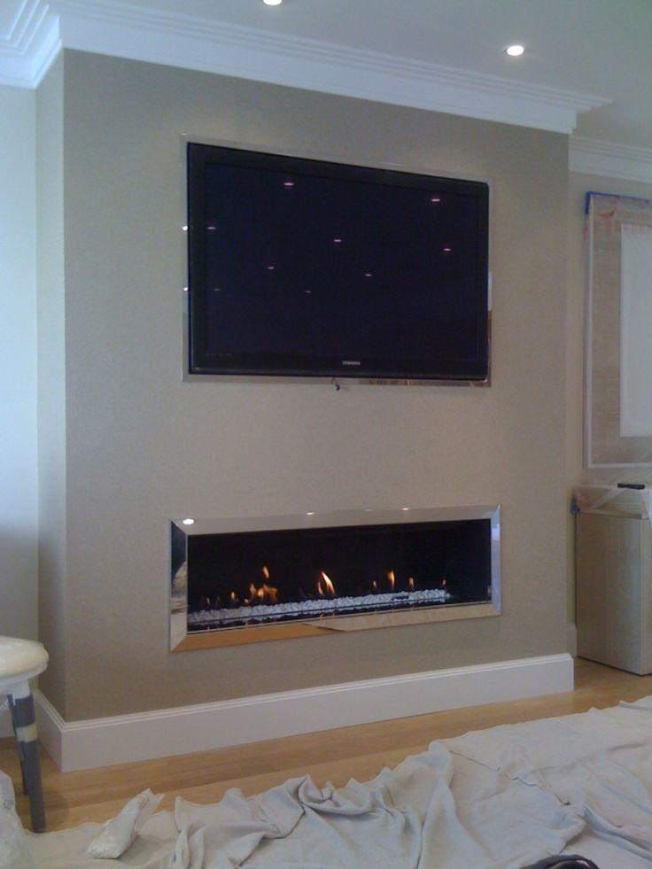 The 25+ best Tv fireplace ideas on Pinterest   Basement ...