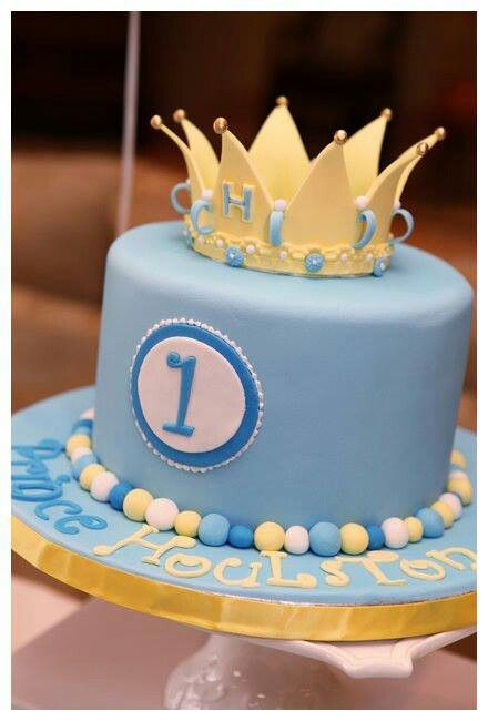 Birthday Cake Pictures For Baby Boy : Baby boy 1st birthday cake Max s birthday party ideas ...