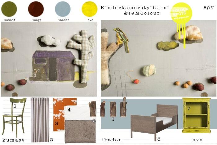 kinderkamer kleur inspiratie