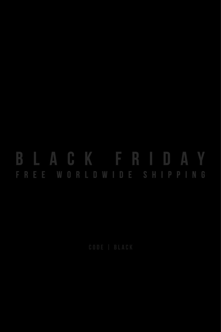 From BLACK FRIDAY till CYBER MONDAY enjoy zero shipping on all orders to all countries. Join the family at ABIDELESS.com #BlackFriday