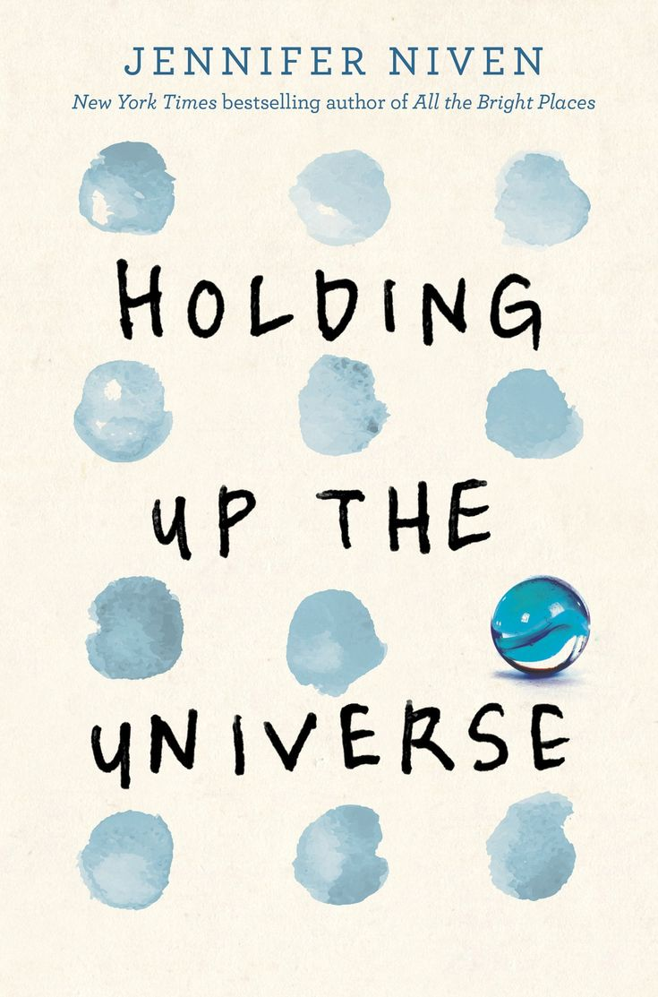 #CoverReveal: Holding up the Universe - Jennifer Niven