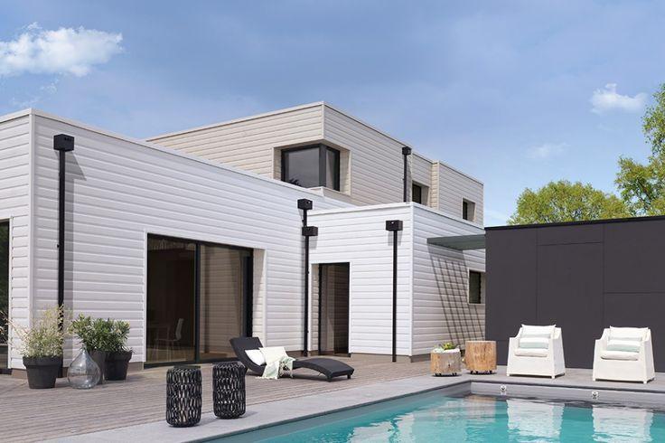 les 25 meilleures id es de la cat gorie bardage eternit sur pinterest detail architecture. Black Bedroom Furniture Sets. Home Design Ideas