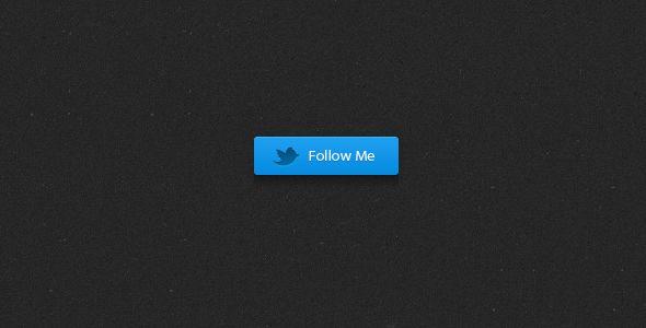 Blue Twitter Button