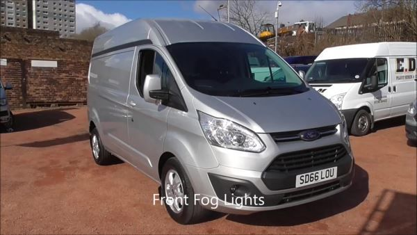 Ford Transit Custom 2.0 TDCi 130ps High Roof Limited Van For Sale in Coatbridge, North Lanarkshire