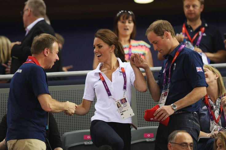 On Thursday August 2, Kate Middleton headed to the velodrome in Stratford in a Team GB polo shirt and jeans.