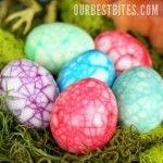 Dinosaur Eggs: Food Colors, Boiled Eggs, Dinosaurs Eggs, Dinosaur Eggs, Easter Eggs, Devil Eggs, Kid, Dinosaurs Easter, Easter Ideas