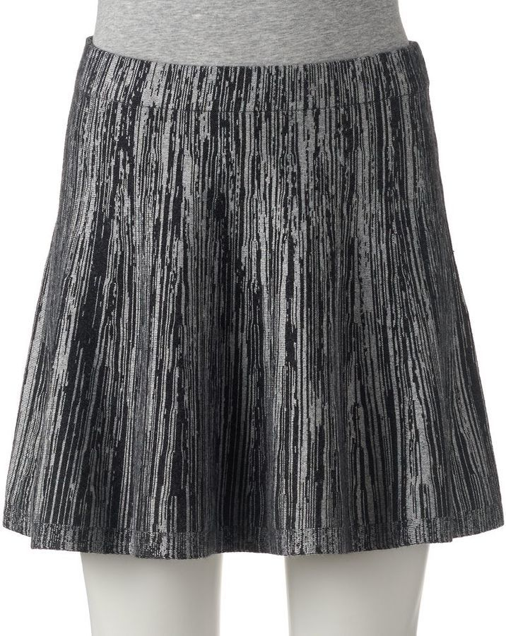 Juniors' Candie's® Space-Dyed Sweater Skirt