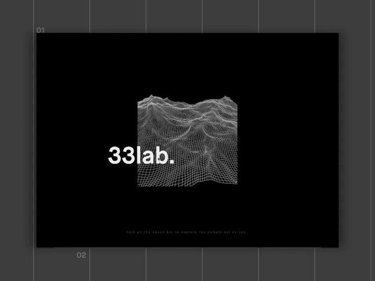 33lab — Website by Bastien Rigaud https://dribbble.com/shots/3077619-33lab-Website #zeeenapp