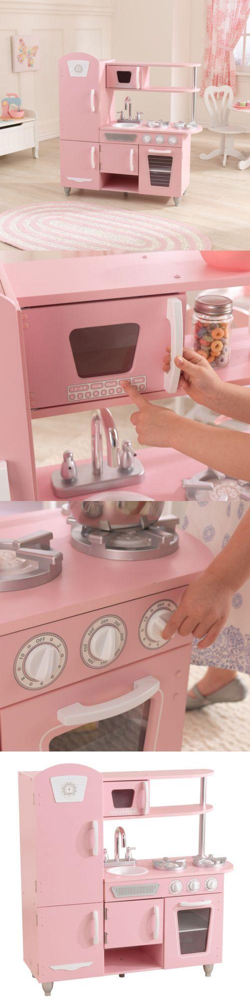 best 25 kidkraft kitchen ideas on pinterest toddler kitchen kitchens 158746 vintage wooden play kitchen pink kidkraft preschool toy play pretend interaction
