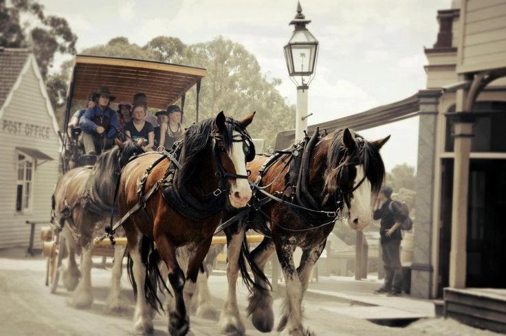 Sovereign Hill, Ballarat Victoria #yankinaustralia #australia