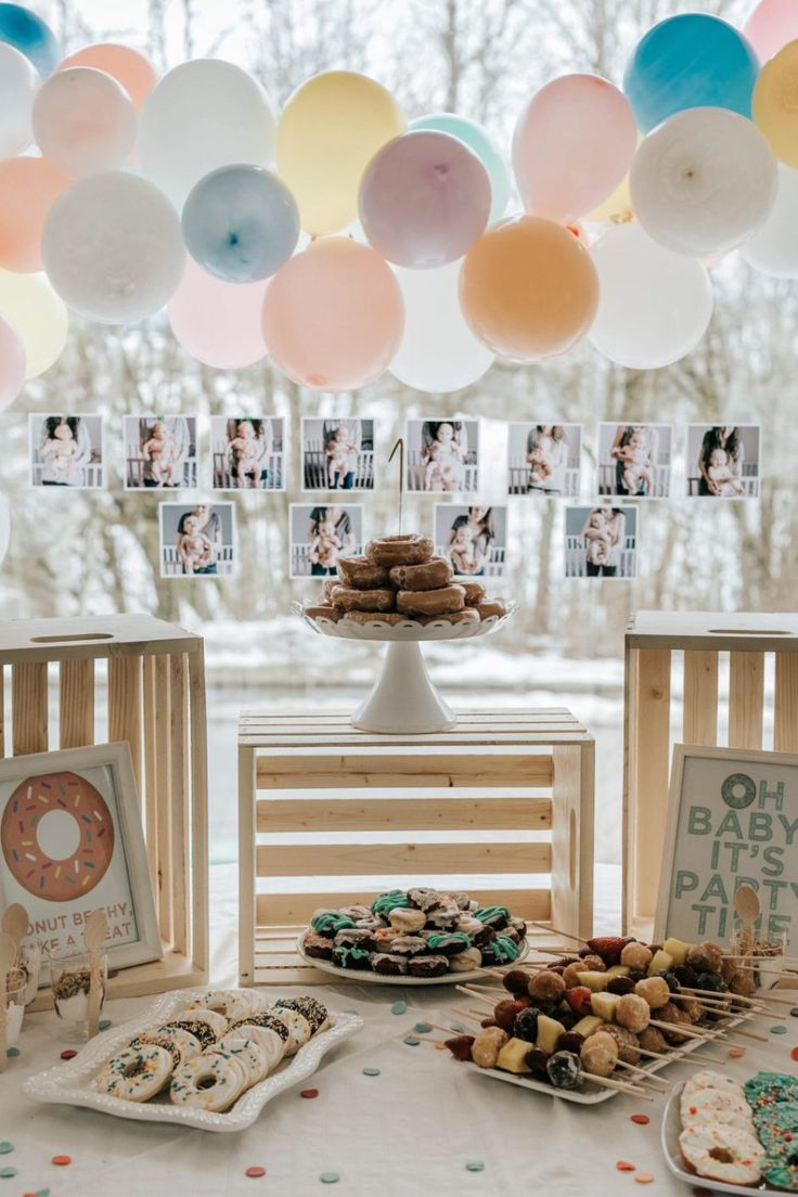 46 best Donut Party Ideas! images on Pinterest | Frost donuts, Party ...