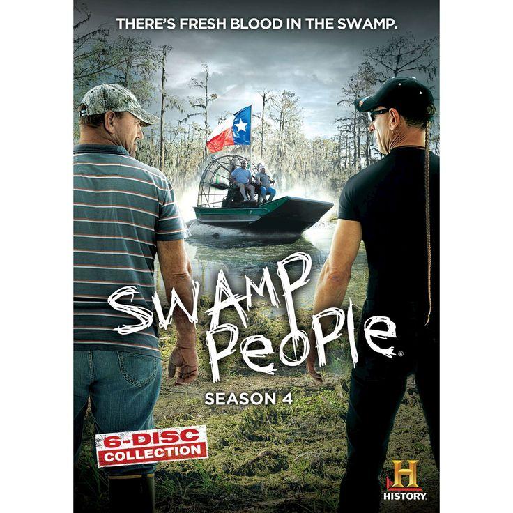 Swamp people:Season 4 (Dvd)