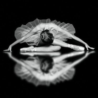 I did an art project my senior year of just drawings and photographs of ballerinas. I love this shot.
