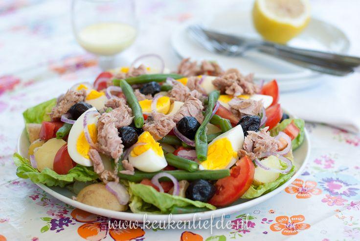 Koken op de camping: salade niçoise - Keuken♥Liefde