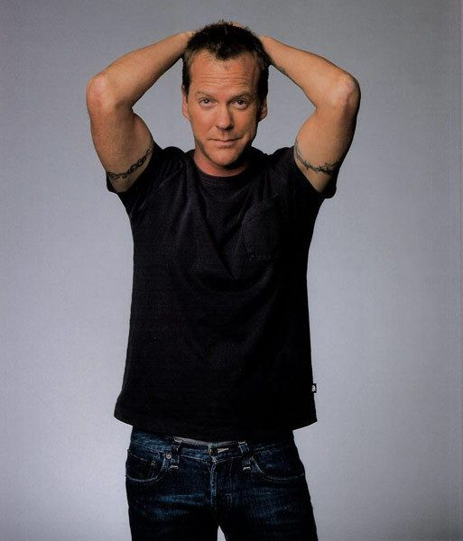 Kiefer Sutherland-24, Eye for an Eye, A Time to Kill, Phonebooth, The Vanishing, Flatliners