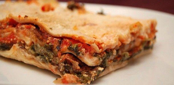 Recette des lasagnes Blettes / Brocciu...