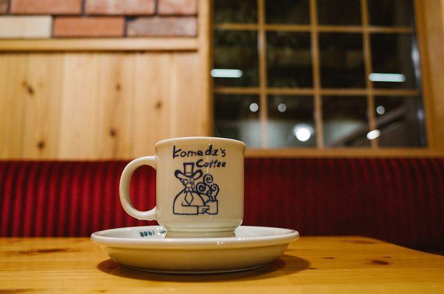Komeda's Coffee / RICOH GR