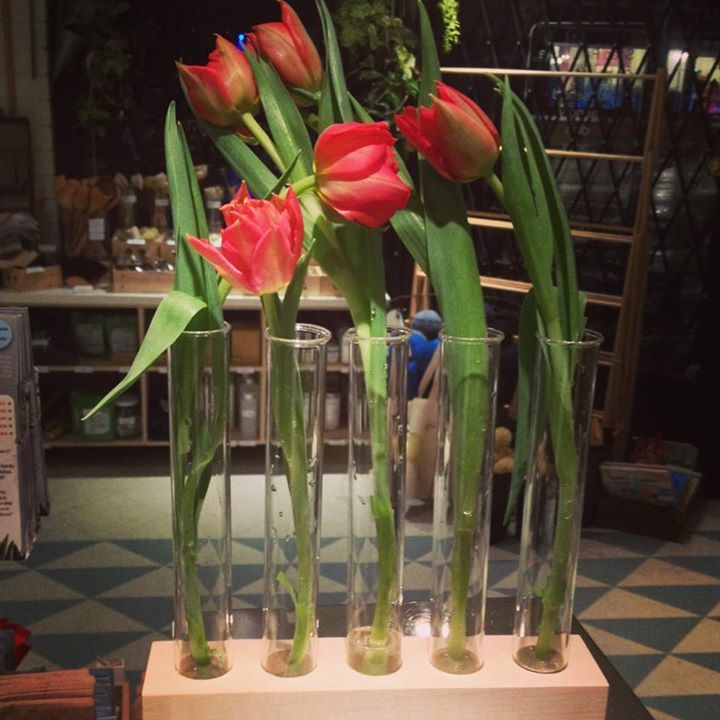 Attractive Amazing Use Of Our Signature Test Tubes As A Flower Vase! Nice Ideas
